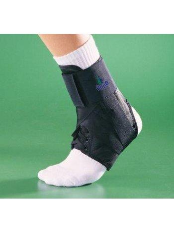 Бандаж на голеностопный сустав усиленный на шнуровке 4106