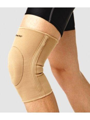 Бандаж на колено эласт. с фиксир. подушкой и метал. спирал. ребрами EKN-212