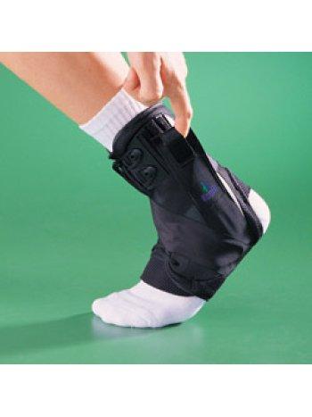 Бандаж на голеностопный сустав усиленный на шнуровке 4006