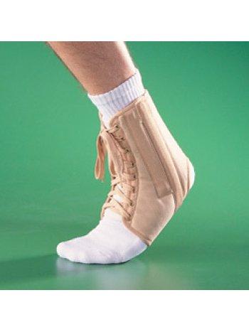 Бандаж на голеностопный сустав полужесткий на шнуровке 4007