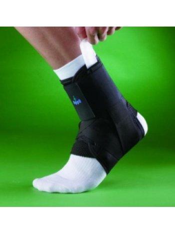 Бандаж на голеностопный сустав усиленный на шнуровке 4206