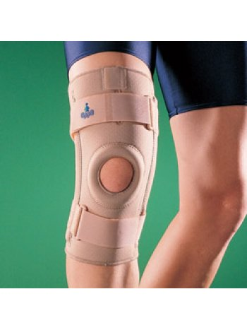 Бандаж на коленный сустав (наколенник) полужесткий 1030