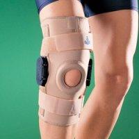 Бандаж на коленный сустав (наколенник) жесткий регулируемый 1036
