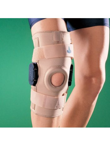 Бандаж на коленный сустав (наколенник) жесткий регулируемый1036