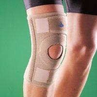 Бандаж на коленный сустав (наколенник) разъемный, полужесткий 1130