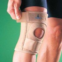 Бандаж на коленный сустав (наколенник) полужесткий, разъемный, укороченный 1230