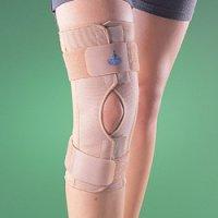 Бандаж на коленный сустав (наколенник) разъемный, полужесткий 2032
