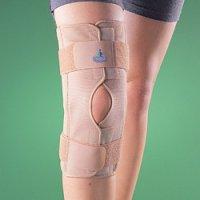 Бандаж на коленный сустав (наколенник) разъемный, шарнирный 2037