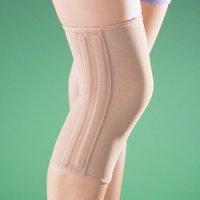 Бандаж на коленный сустав (наколенник) полужесткий 2038
