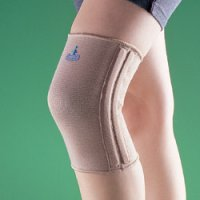 Бандаж на коленный сустав (наколенник) укороченный, полужесткий 2133
