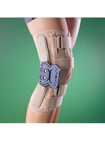 Бандаж на коленный сустав (наколенник) разъемный, жесткий, регулируемый 2137