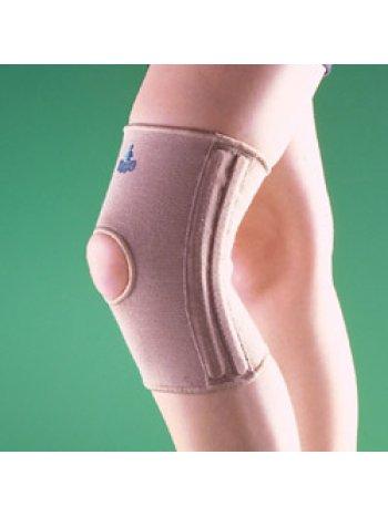 Бандаж на коленный сустав (наколенник) укороченный, полужесткий 2233