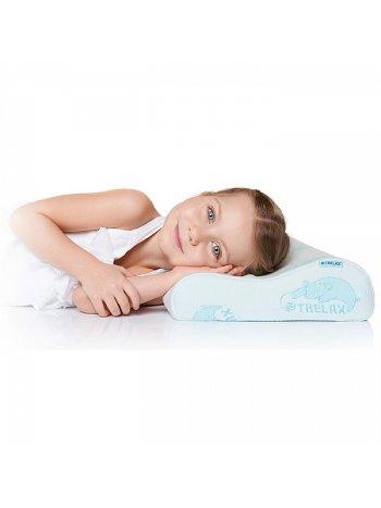 Подушка ортоп. TRELAX с эф. памяти под голову для детей от 3-х лет, арт. П35, RESPECTA BABY