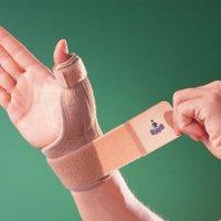 Бандаж на лучезапястный сустав с фиксацией сустава большого пальца 1289