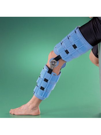 Бандаж на коленный сустав (наколенник) регулируемый, жесткий, высота 55,8 см 4039-22