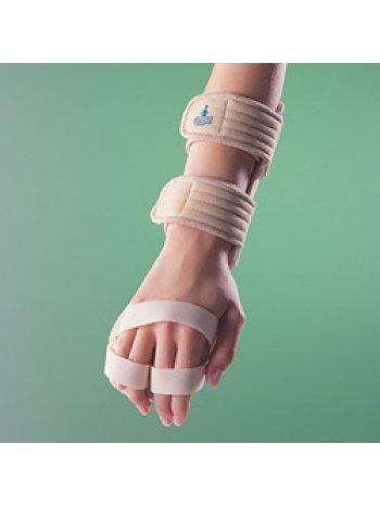 Бандаж на лучезапястный сустав с фиксацией пальцев, правый / левый 4182