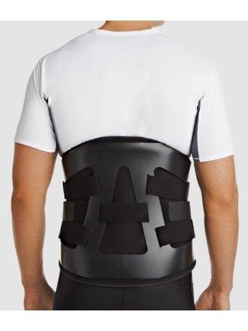 Корсет ортопедический поясничный жесткий с пластиковой рамой LSO-981