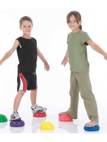 Мяч массажный, диам. 18 cm (пара) apт. 465172 (Senso Balance Hedgehog + XL)