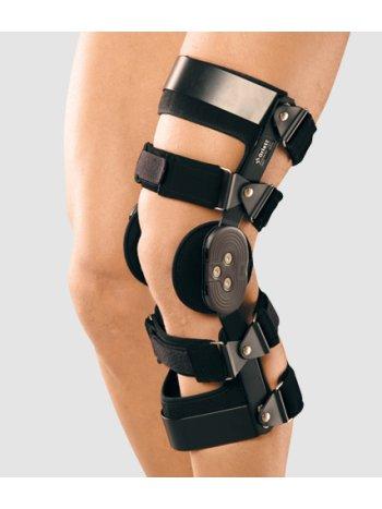 Ортез коленный с двуосным шарниром-регулятором угла сгибания арт. PO-303 (LEFT)