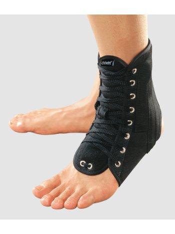Ортез на голеностопный сустав с ребрами жесткости и шнуровкой LAB-201