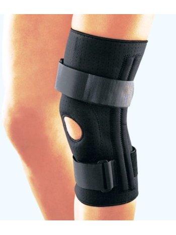 Ортез на коленный сустав с четырьмя пружинными ребрами жесткости RKN-365