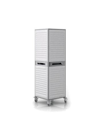 Шкаф для одежды СН-400.50.02 (передвижной палатный «M-BOX»)