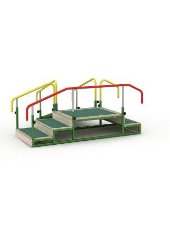 Комплект приспособлений реабилитационных для занятий в ЛФК СН-70.02 (горка для ходьбы детск.)