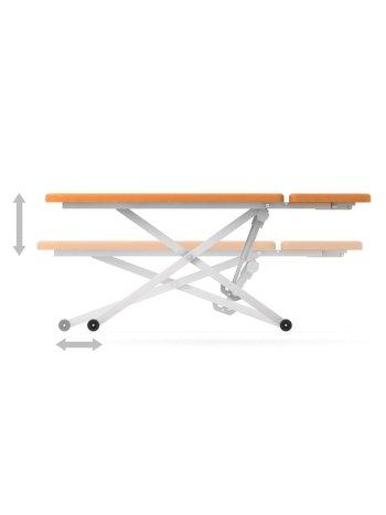 Стол для кинезотерапии СН-52.04.03 BALANCE (двухсекционный, с отверстием для лица, регулируемая высота, электропривод)