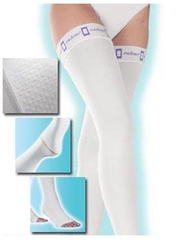 Чулки лечебные компрессионные thrombex, 18 мм рт. ст., универсальная длина, закрытый носок