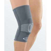 Бандаж коленный с силиконовым пателлярным кольцом protect.GENU - серый