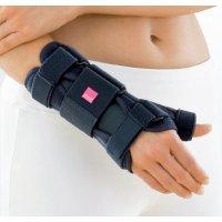 Шина для запястья с поддержкой большого пальца MANUMED T - левая темно-серая
