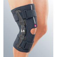 Укороченный регулируемый полужесткий коленный ортез Stabimed