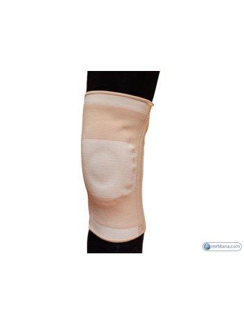 Бандаж на коленный сустав эластичный с ребрами жесткости C1ELS-1201