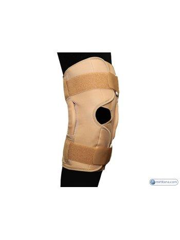 Бандаж на коленный сустав фиксирующий с ребрами жёсткости и отверстием разъемный BKFO C1KN-503